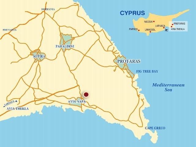 Luxury villas outside Ayia Napa-Famagusta