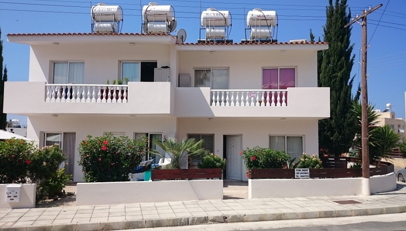 BLOCK OF 6 ONE BED APARTMENTS CHLORAKA, PAPHOS