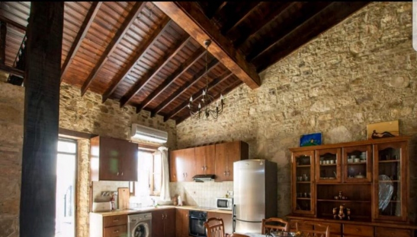 2 BEDROOM TRADITIONAL STONE HOUSE IN SILIKOU VILLAGE, LIMASSOL