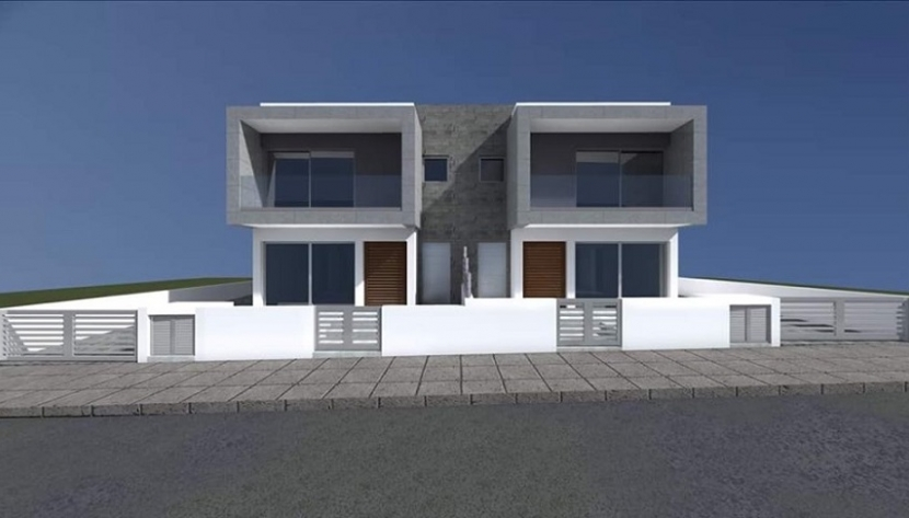 MODERN NEW 3 BEDROOM SEMI-DETACHED HOUSE IN ERIMI, LIMASSOL
