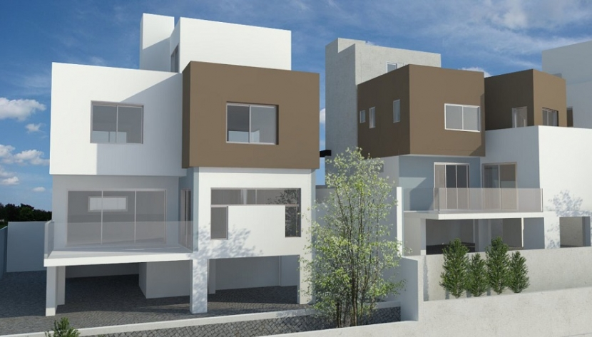 TWO MODERN DETACHED 4 BEDROOM HOUSES IN ERIMI, LIMASSOL
