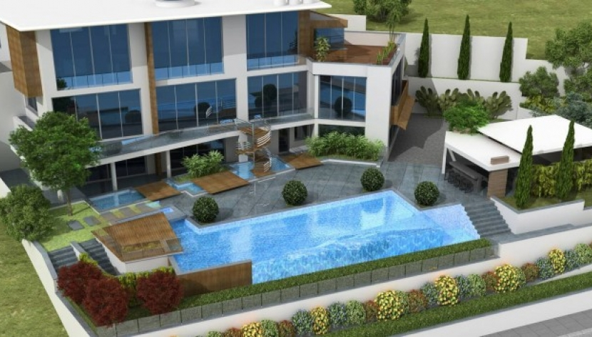 LUXURY 5 BEDROOM VILLA IN YERMASOYIA, LIMASSOL