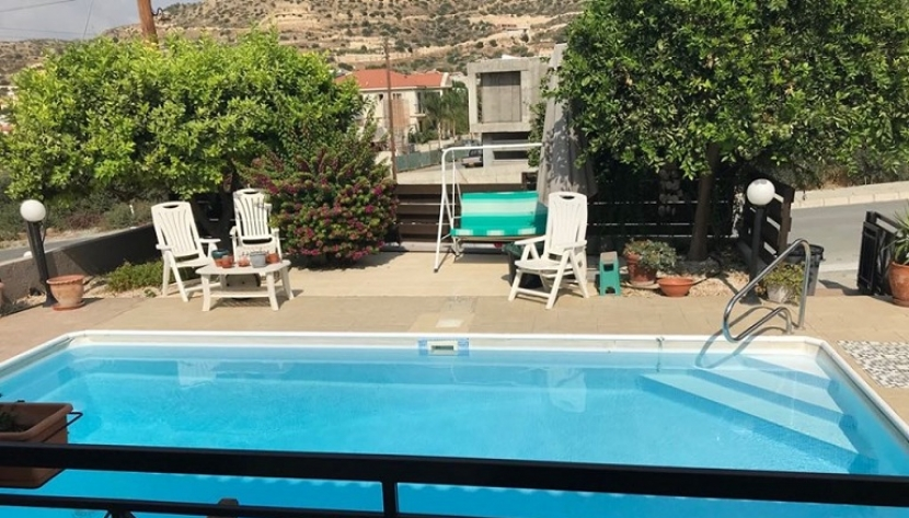 3 BEDROOM BUNGALOW + PRIVATE POOL IN PALODIA VILLAGE, LIMASSOL